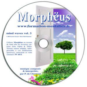 Mentalisme Pascal de Clermont CD Mind Waves 3 MORPHEUS visuel