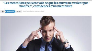 Interview mentaliste Pascal de Clermont - Preview