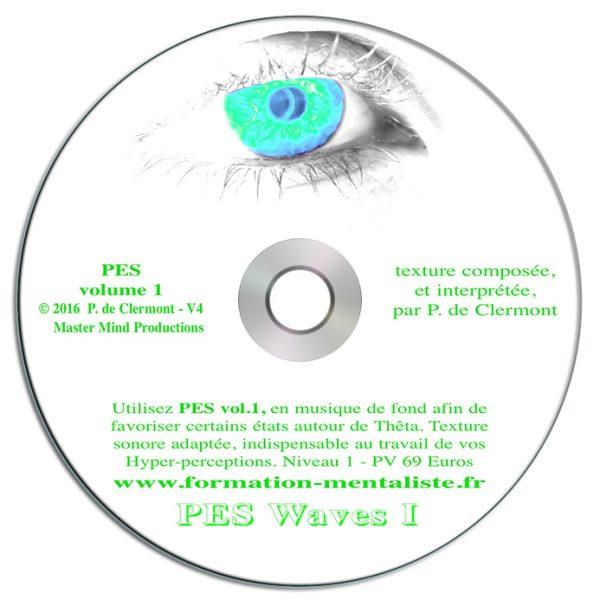 Mentalisme Pascal de Clermont CD Mind Waves 6 PES 1 visuel