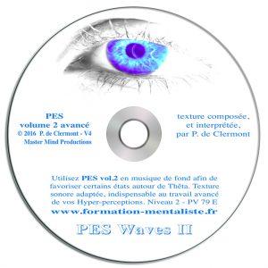Mentalisme Pascal de Clermont CD Mind Waves 7 PES 2 visuel